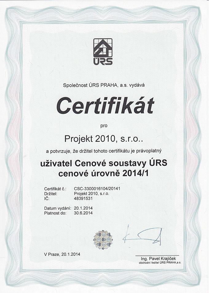 Certifikát-ÚRS-2014-1a